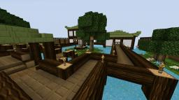 Scenic Japanese House Minecraft Map & Project