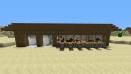 Automatic Stable For Horses Minecraft Project