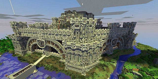 Epic PMC Server Spawn X Minecraft Project - Minecraft hauser spawnen