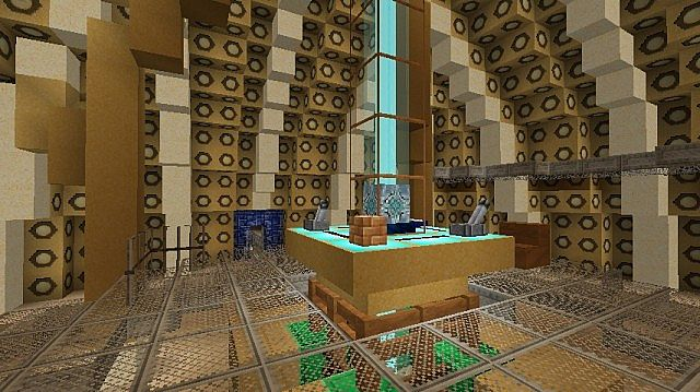 9th-10th Doctor console room
