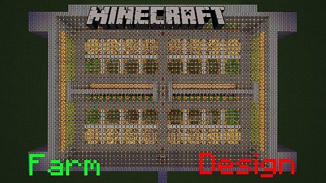 Farm Design Minecraft Project