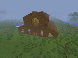 Horse And Cow Barn Minecraft