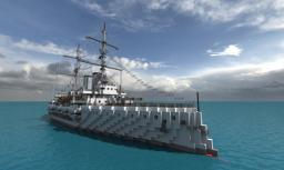 HMS Prince of Wales (1902) Minecraft Project