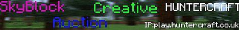 HUNTERCRAFT | play.huntercraft.co.uk | SKYBLOCK | AUCTION ...