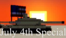 United States July 4th Special Minecraft Map & Project
