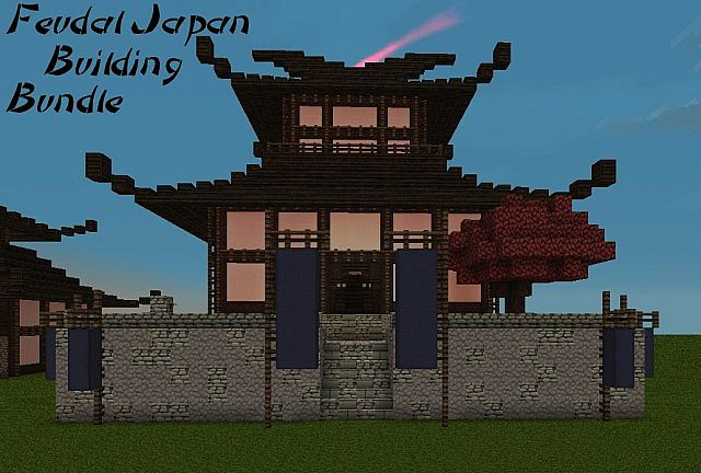 Feudal Japan Building Bundle on Japanese Tea House