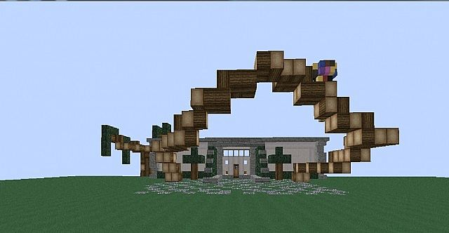 Beautiful house modern house world save minecraft project for Country house com