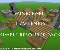 simpleness Minecraft Texture Pack