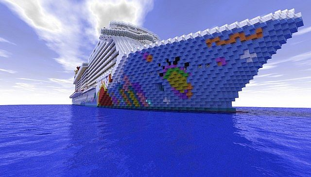 Norwegian Breakaway 1 1 Scale Cruise Ship Download