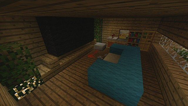 Minecraft xbox 360 awesome army tank showcase design for Minecraft living room ideas xbox