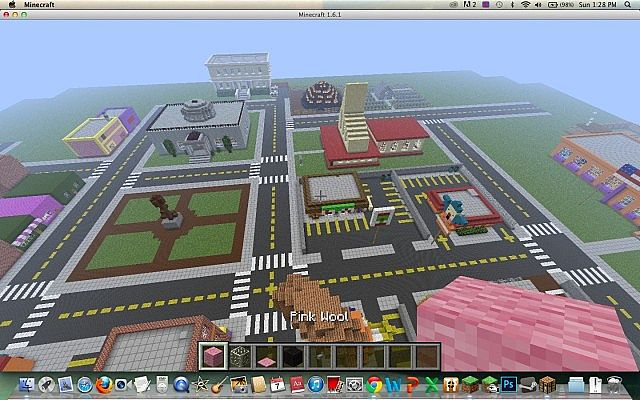 Burns Truck Center >> Springfield - The Simpsons Minecraft Project