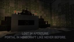 Lost in Aperture | Minecraft Portal Map (Resource Pack) Minecraft Project