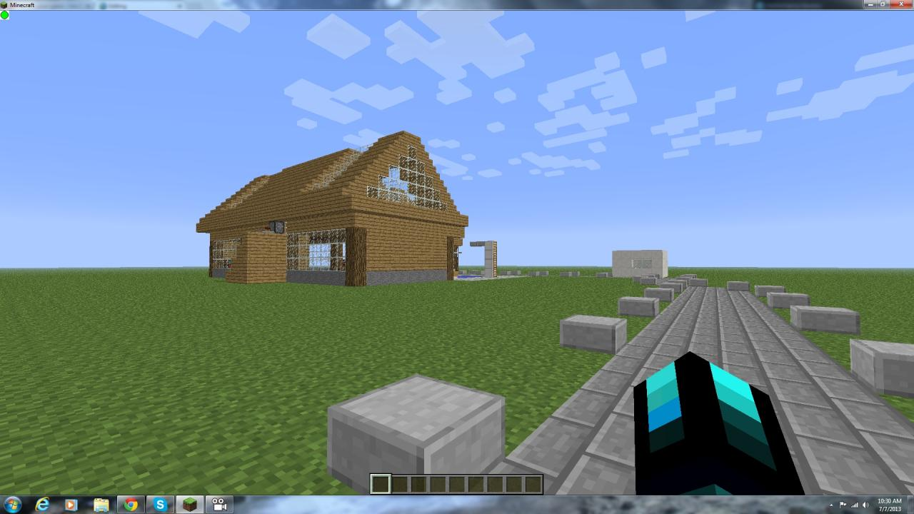 Biggest House Ever Minecraft Project