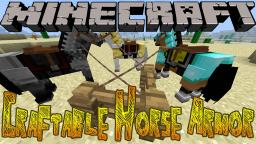 Minecraft Mods - Craftable Horse Armor Minecraft Blog