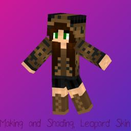 ❦вυииєн❦ Animal Series: Shading Leopard Girl Minecraft Blog