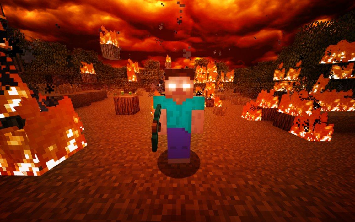 HEROBRINE - Minecraft Picture - Stuffpoint