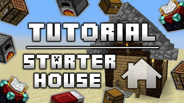 Starter House - Simple :: Tutorial Minecraft Project