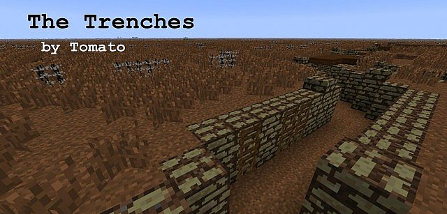 The Trenches: a World War 1 Map Minecraft Project