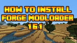 How to Install Mods in Minecraft 1.6.1 (Minecraft Forge) Minecraft