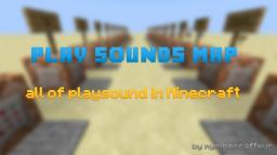 All Play Sound in Minecraft 1.6.1 Minecraft Project