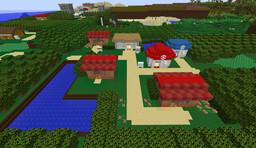 Pokémon Emerald Hoenn Region (15%) Minecraft Map & Project