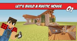 Learn to build a nice rustic house! Minecraft Blog