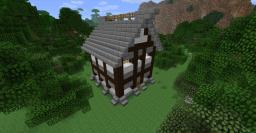 building medieval houses for begginers Minecraft