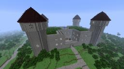 End Castle Minecraft Map & Project