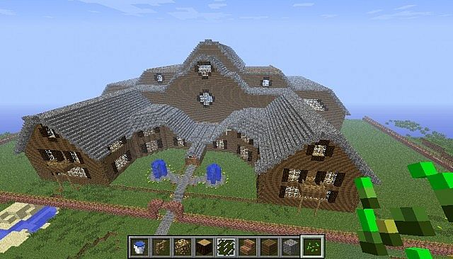 huge mansions world minecraft project - Biggest Minecraft House In The World 2013