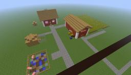 Farmhouse 1.6.2 Minecraft Project