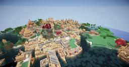 Prosperity , Big medieval city Minecraft Map & Project