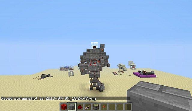 Redstone Robot Minecraft Project