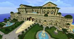 Sandy Palace Minecraft Map & Project