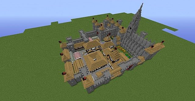 Minecraft Build Village Mod