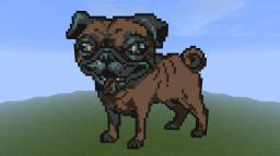 My dog  (pixel art) Minecraft Map & Project