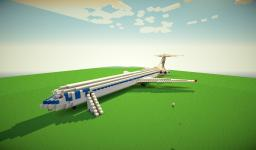 Airliner II-62 Minecraft Map & Project