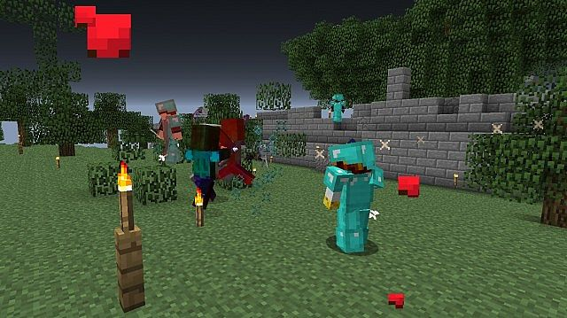 Dwarfs vs zombies mod Is minecraft better than Plants vs Zombies.