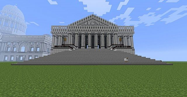 United States Capitol Building Minecraft Project - Minecraft us capitol map
