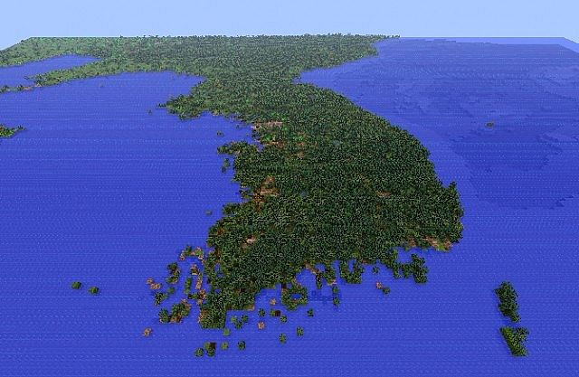 how to get the minecraft map the earths core