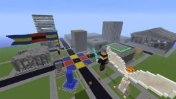 The City of New Athens Minecraft Map & Project