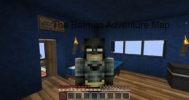 Batman Adventure Map Minecraft Project