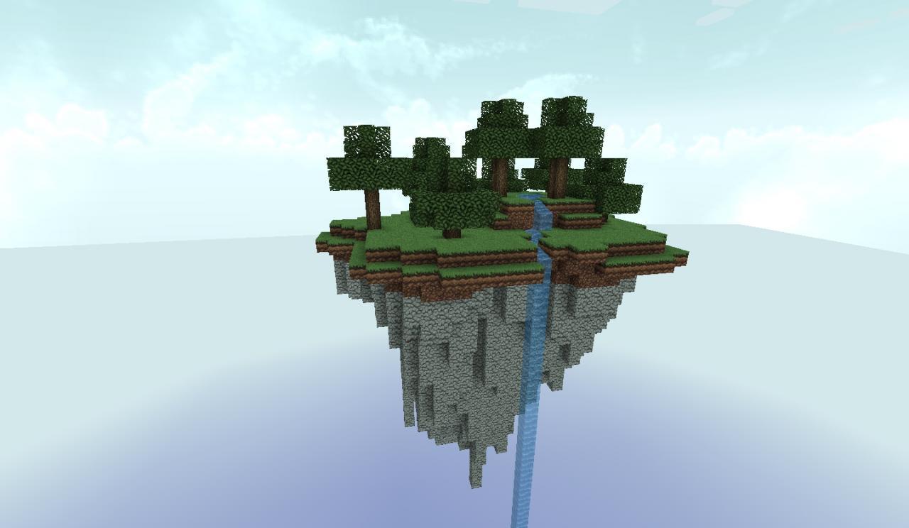 Floating Island Minecraft