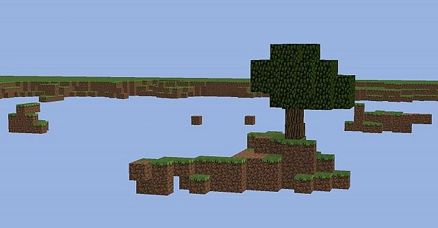 how to make a skyblock map