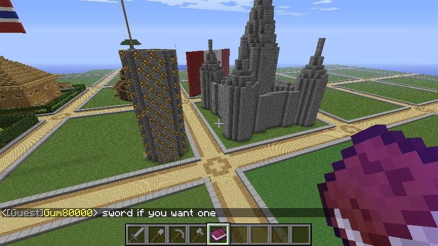 Cool Building On My Server Minecraft Project