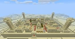 Walled Desert Town Minecraft Map & Project