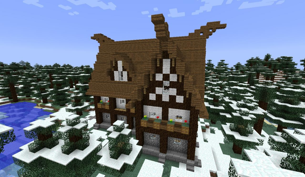 How to build a Viking House Minecraft - 168.3KB