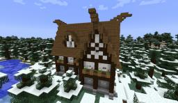 How to build a Viking House Minecraft