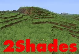 2Shades Resource Pack 0.3 [64x] [Cartoon] Minecraft Texture Pack