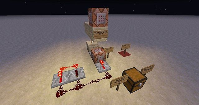 how to make a teleporter in minecraft with command block