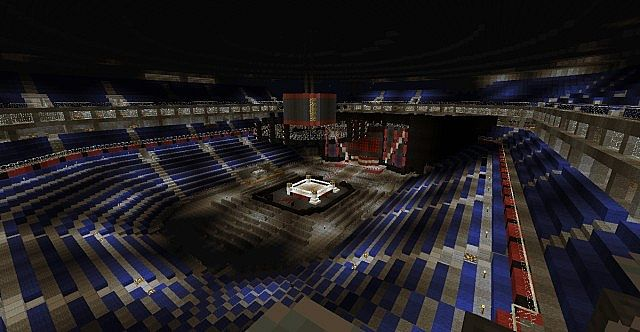 O2 arena wwe raw complete arena minecraft project sciox Gallery